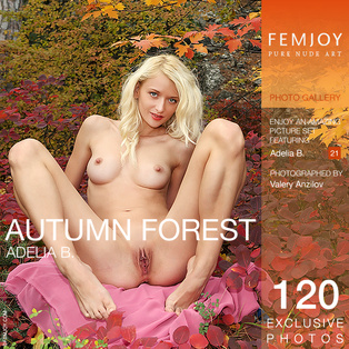 FEMJOY Model in Adelia B. in Autumn forest