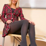 schoolgirl in Naughty Opaques  #5