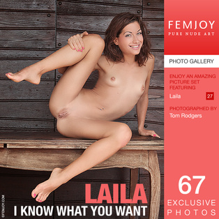 FEMJOY Model in Laila in I Know What You Want