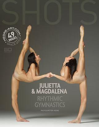 Hegre-Art Model in Julietta and Magdalena rhythmic gymnastics