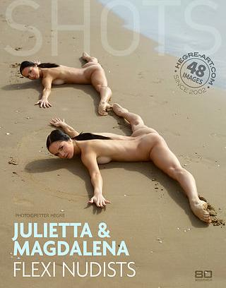 Hegre-Art Model in Julietta and Magdalena flexi nudists