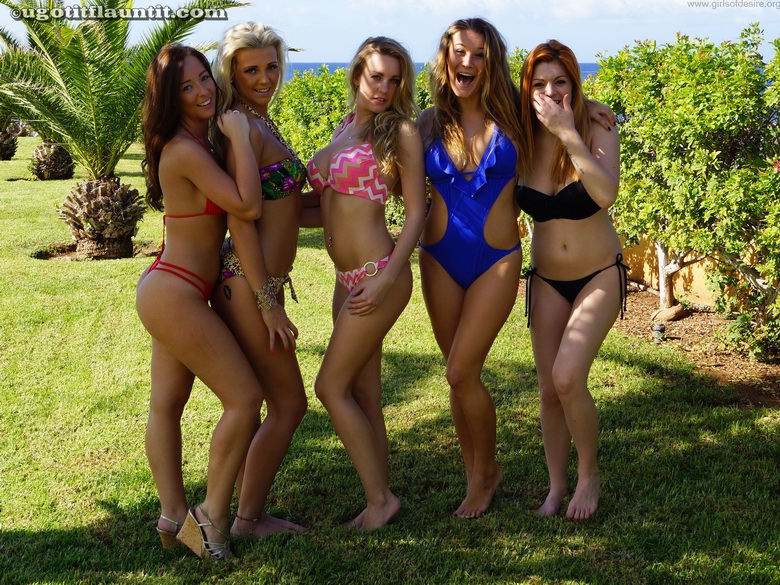 group of young sexy girls #2