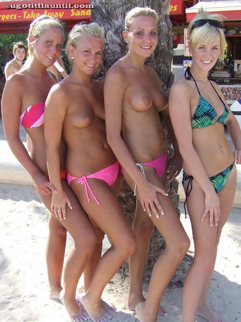 4 hot beach flashers #12