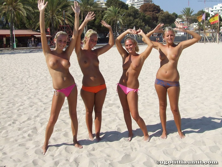 4 hot beach flashers #3