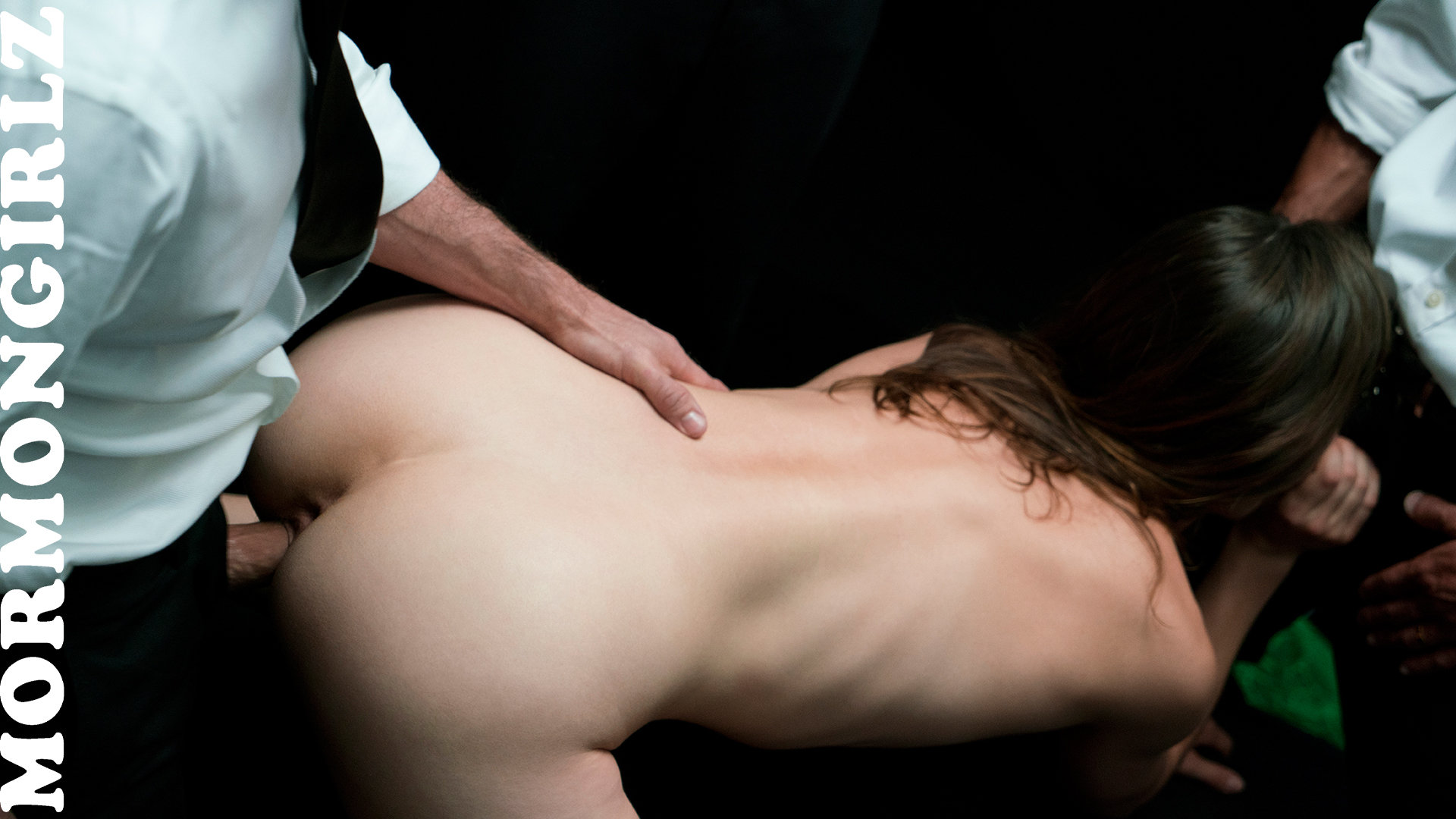 mysterious mormon beauty providing handjobs at free will to her superiors #10
