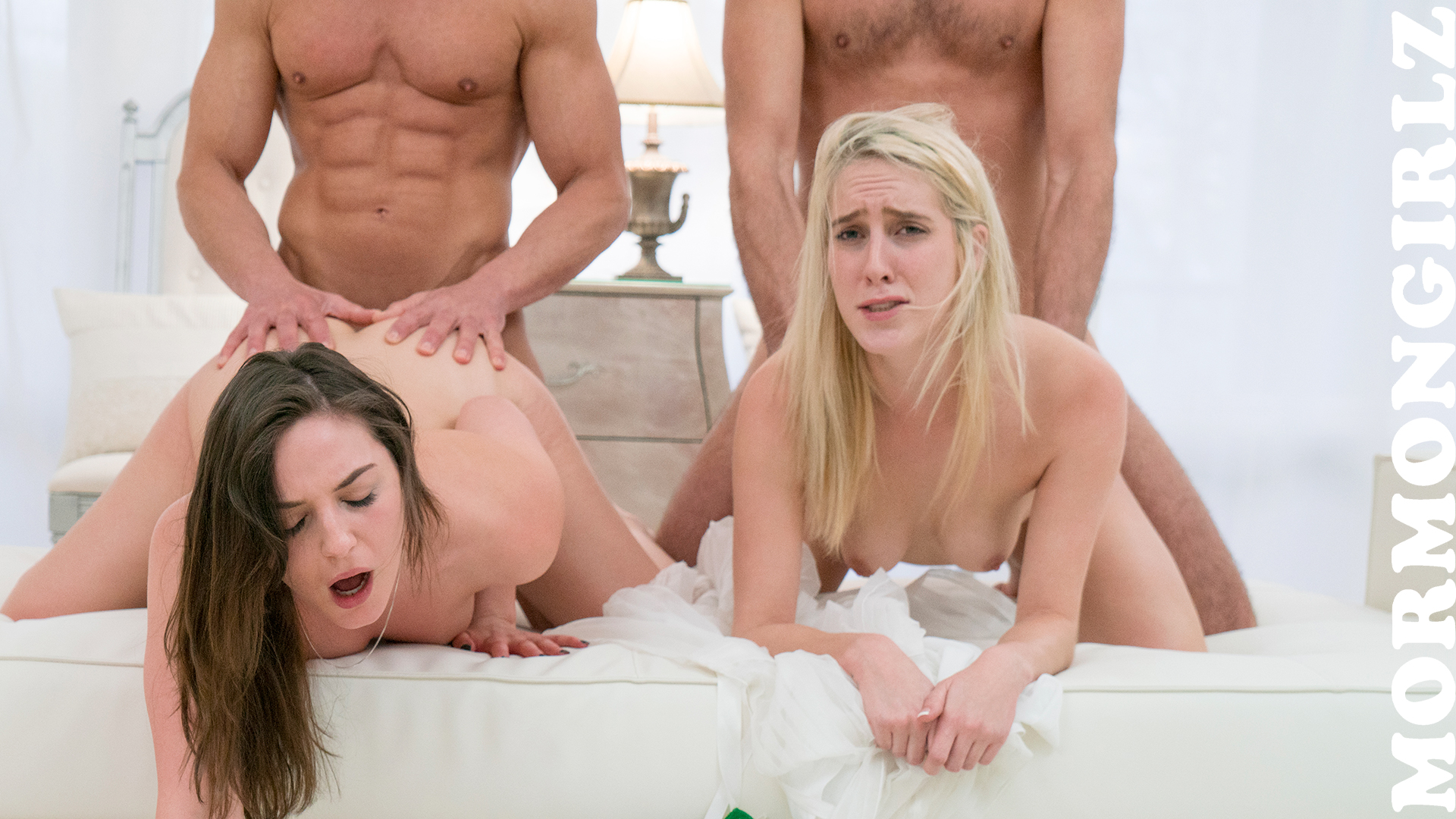 sweet mormon sister pressing her tongue inside her sisters vagina #5