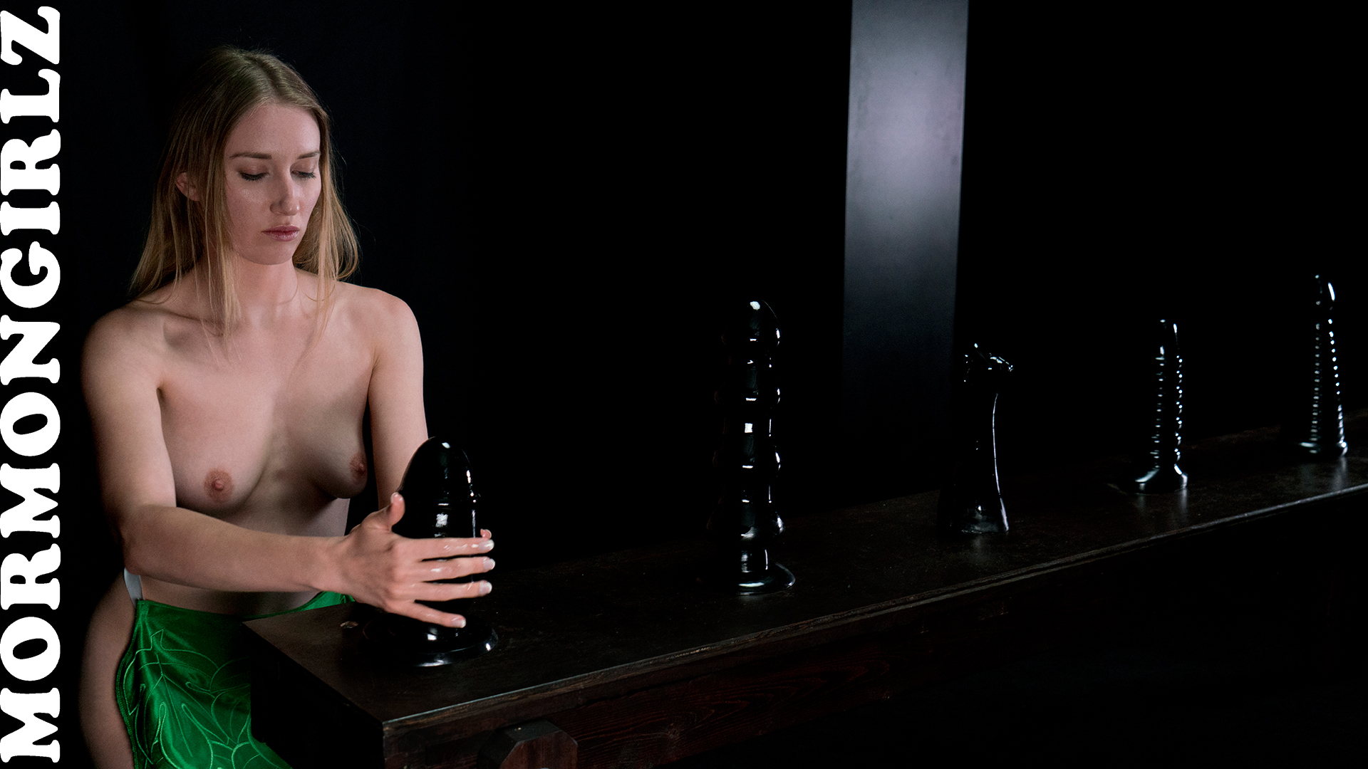 submissive Mormon Sister Jane experiencing a session with Father Joe #2