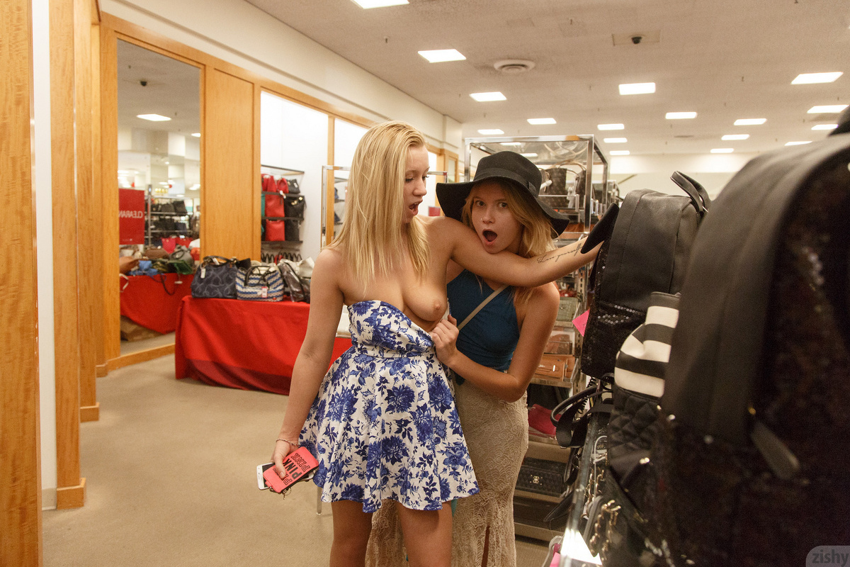bailey brooke getting kinky in the department store #5