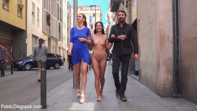 nora barcelona abused in  a hipster joint #7