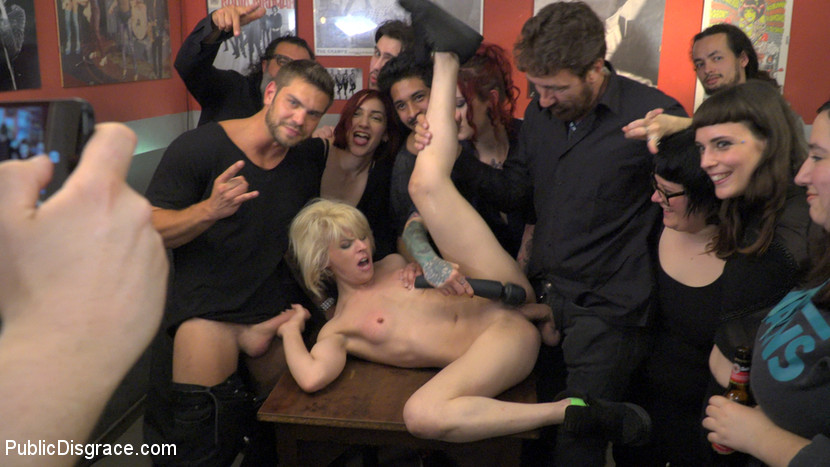 nora barcelona abused in  a hipster joint #2