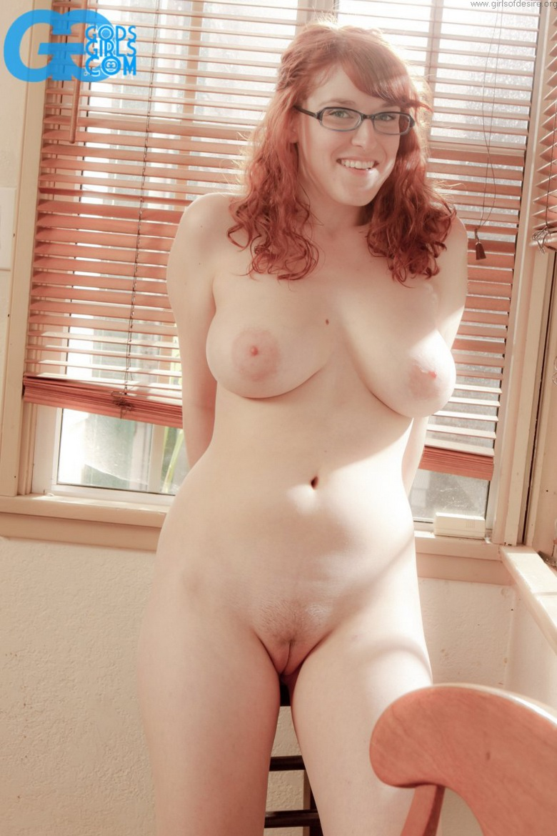 hot fatty nerd exposed naked in the kittchen #8