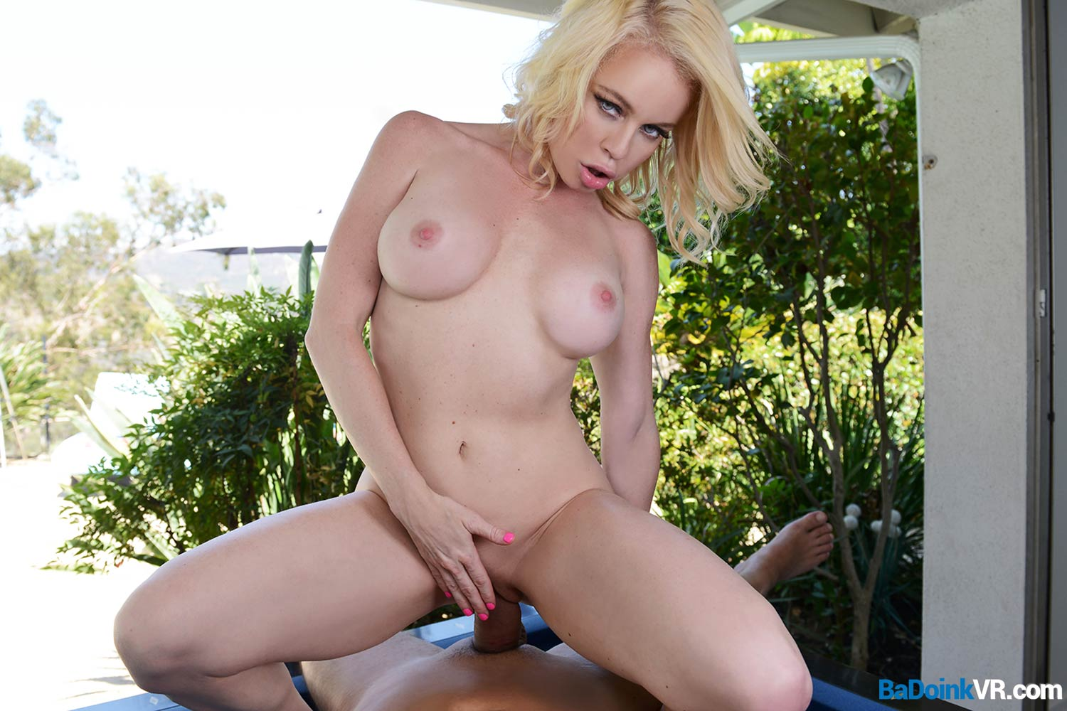 virtual melons wearn by Nikki Delano ringing at your door #2