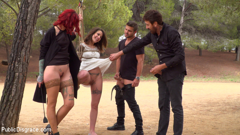 nora barcelona abused in  a hipster joint #10