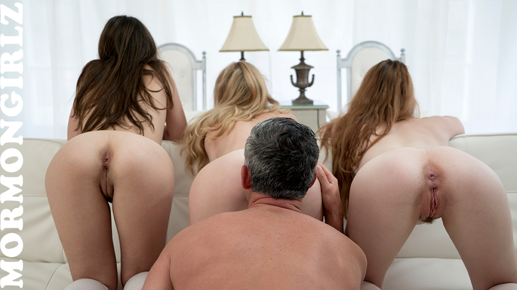 mormon father is testing out the grounds on 3 of his virgin nurses #10