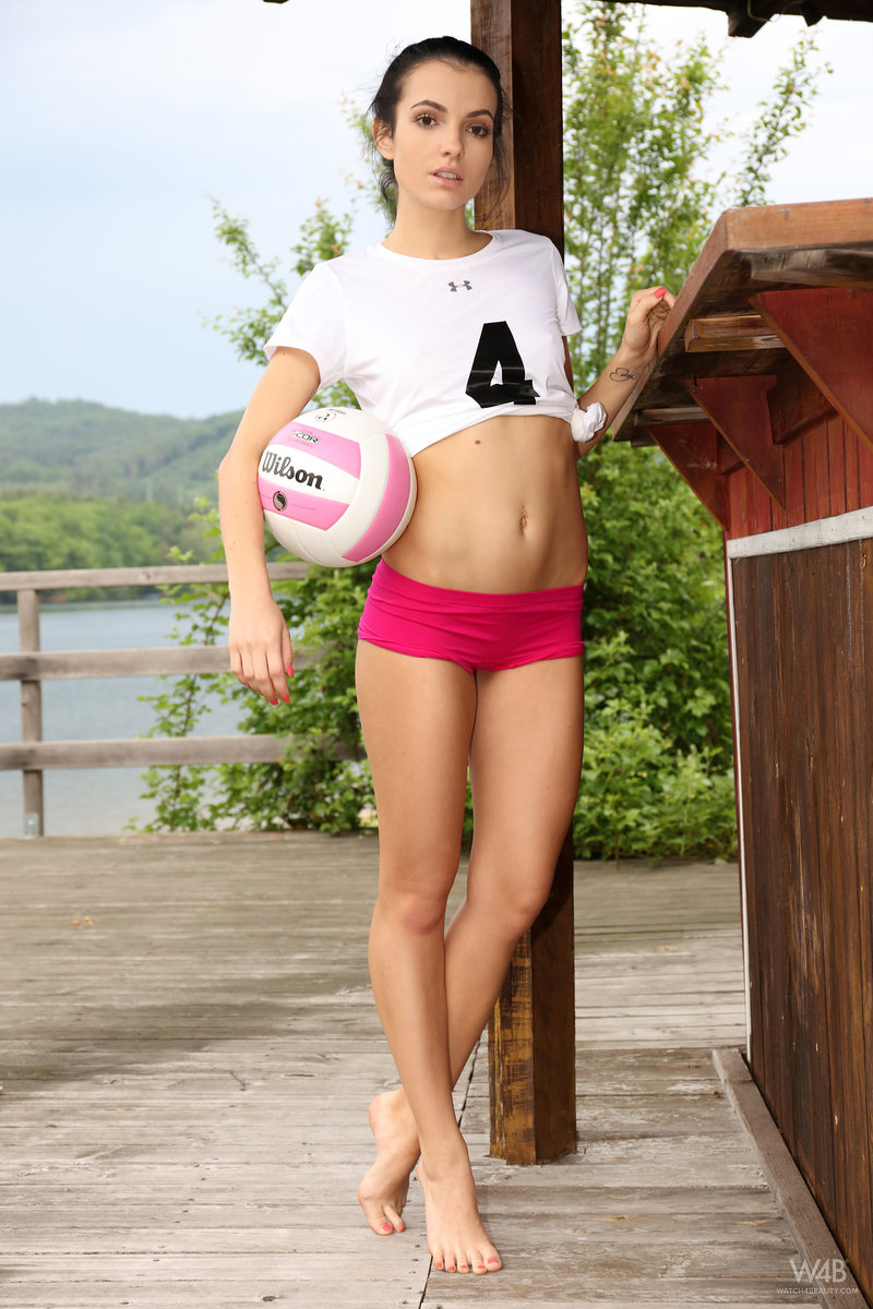 a game of beachvolley with a marevelous skinny hotness  #2