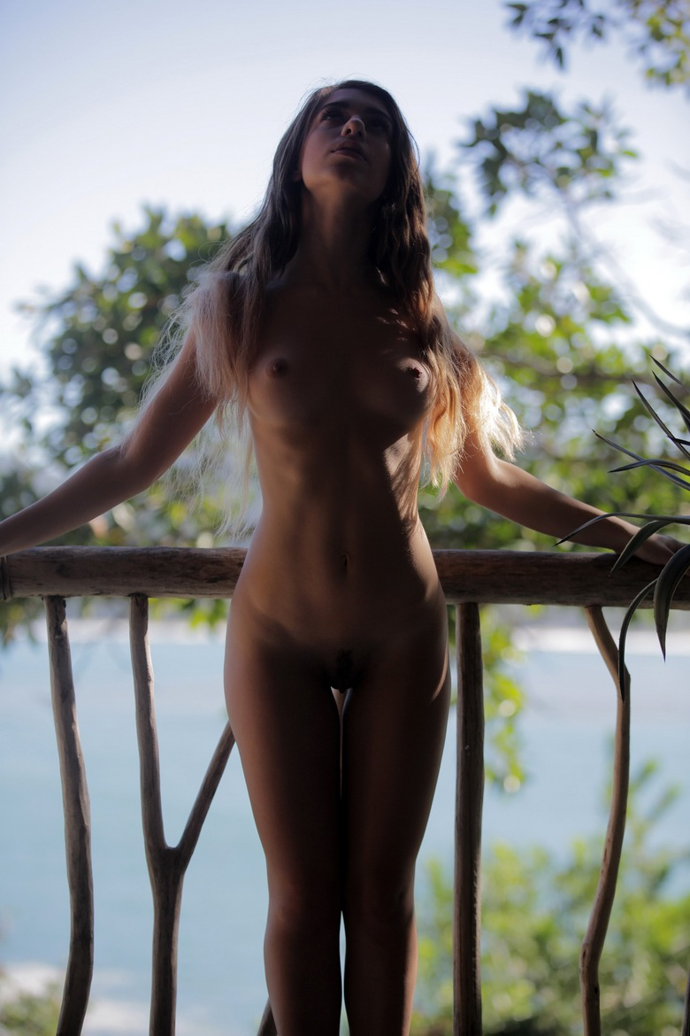 long haired beauty naked #8