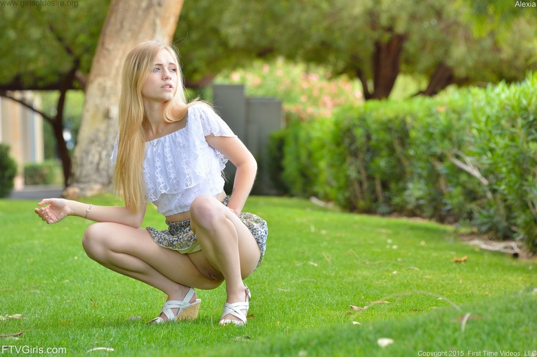pantyless in the park #3