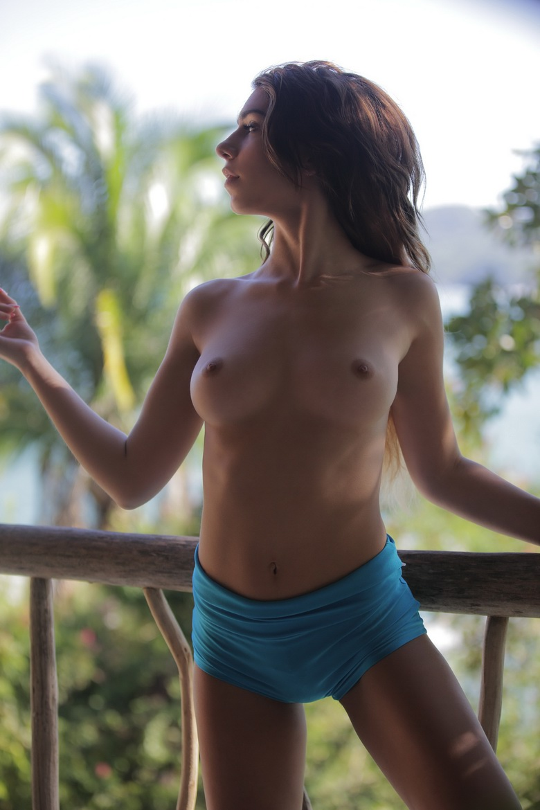 long haired beauty naked #12