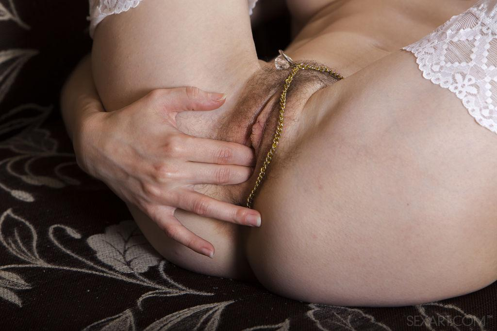 petite girlfriend with huge hairy slit by sexart #12