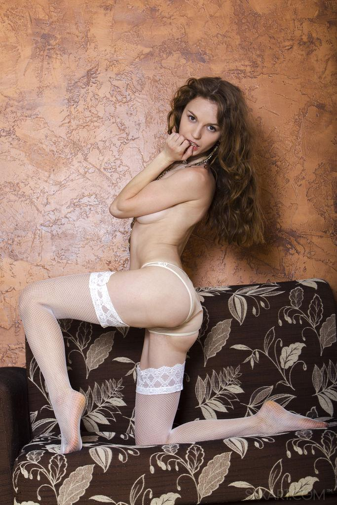 petite girlfriend with huge hairy slit by sexart #2