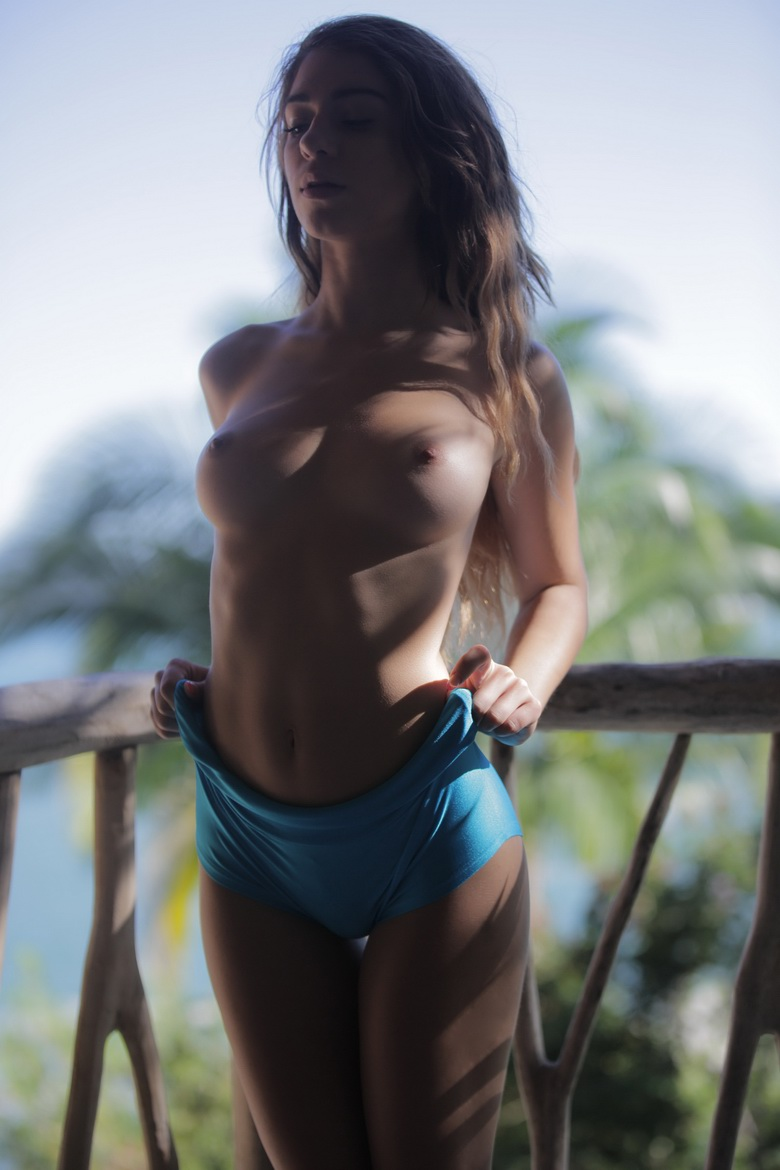 long haired beauty naked #2