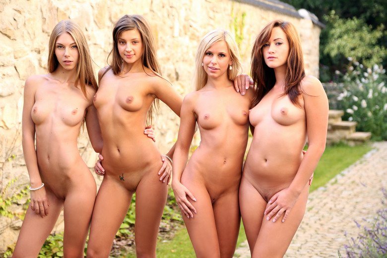 group of girls going completly naked from watch4beauty #2