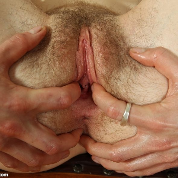 beautiful wet hairy cunt