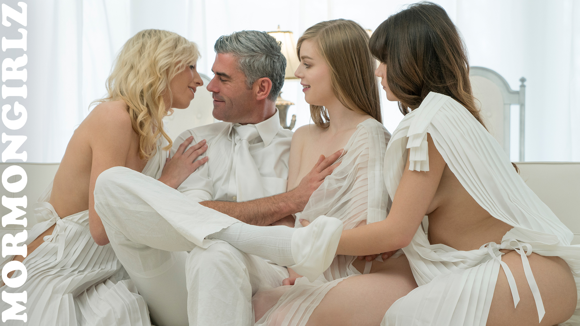 polygamic pleasures for mormon virgin susie from mormongirlz #5