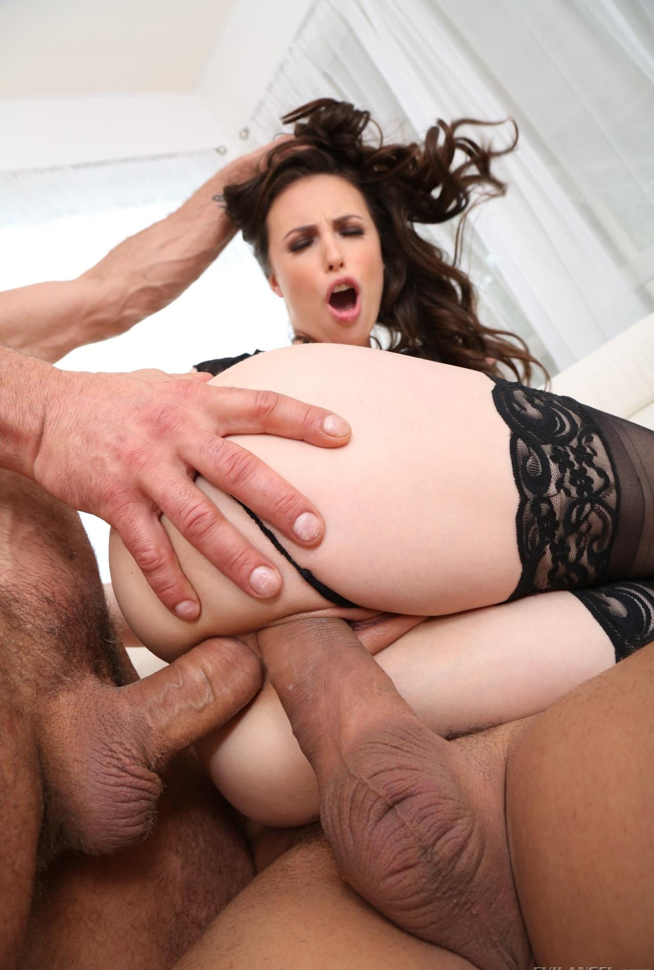 Casey Calvert Hardcore Milf Casey Calvert gets her nylons and asshole destroyed 5