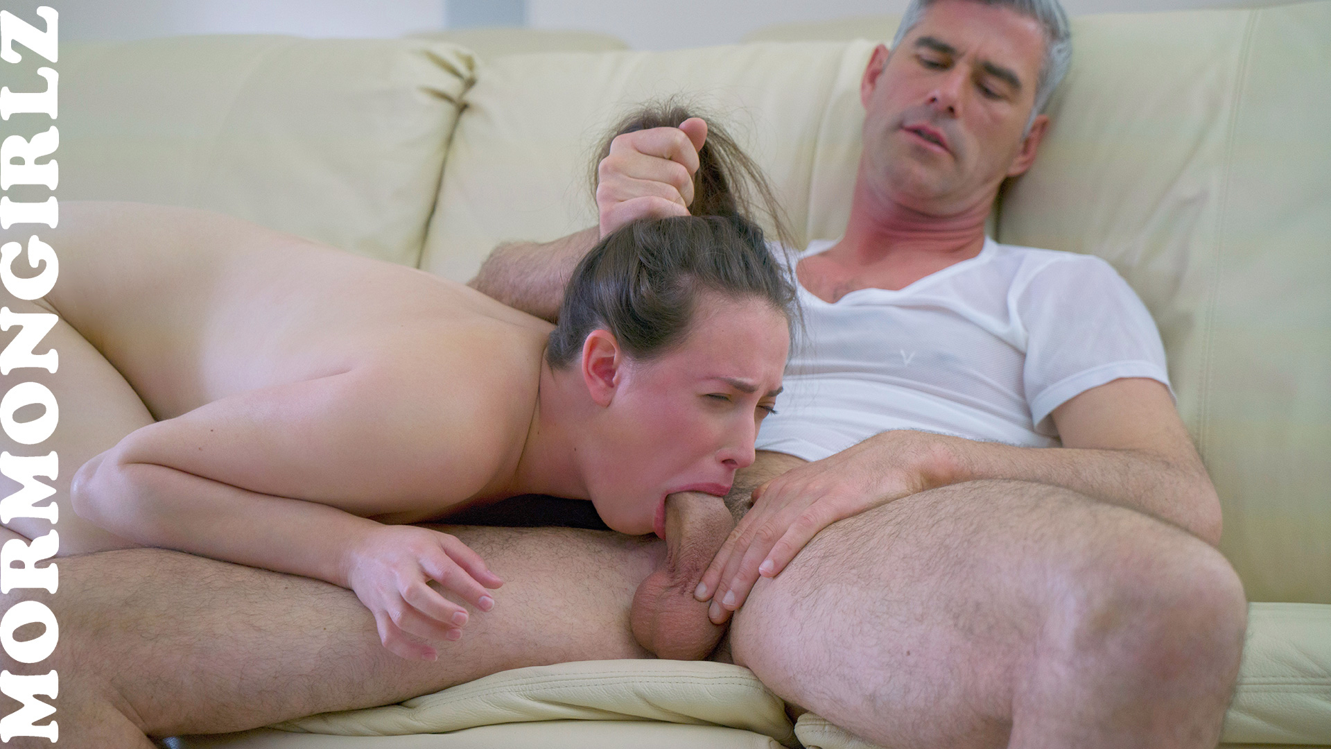 Newbie mormon sister casey gets baptised her vagina by father pete #11