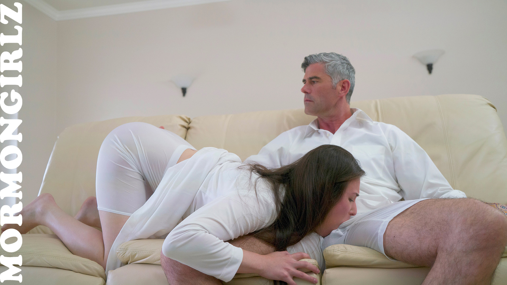 Newbie mormon sister casey gets baptised her vagina by father pete #1