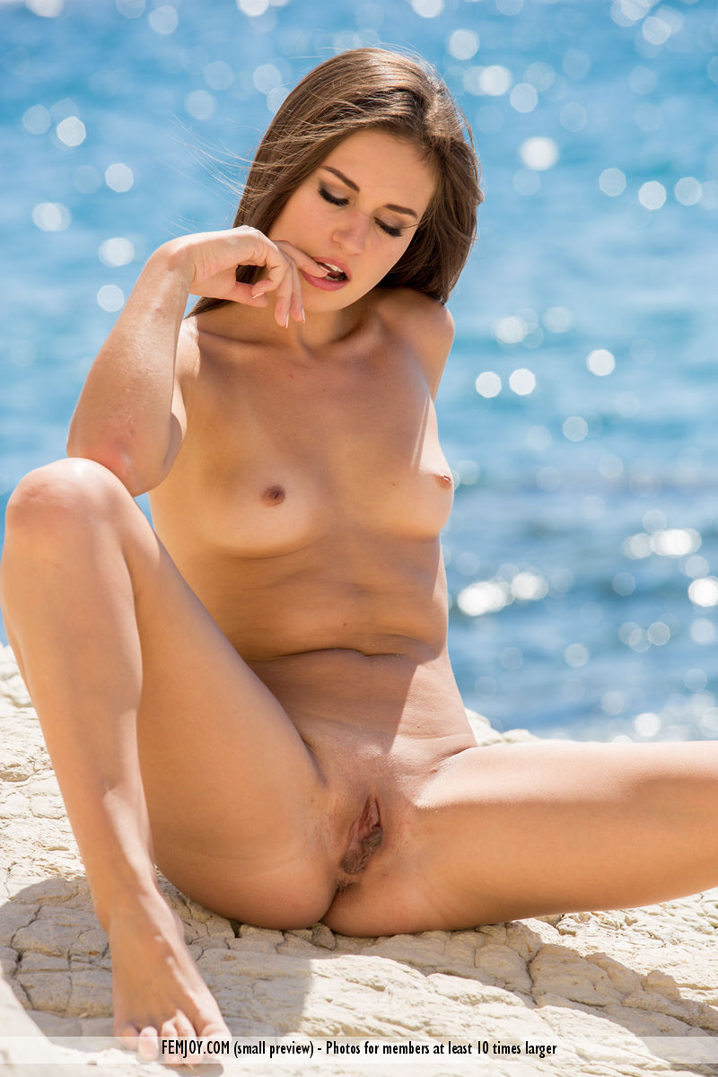 nudity beach pleasures with femjoy model edessa #3