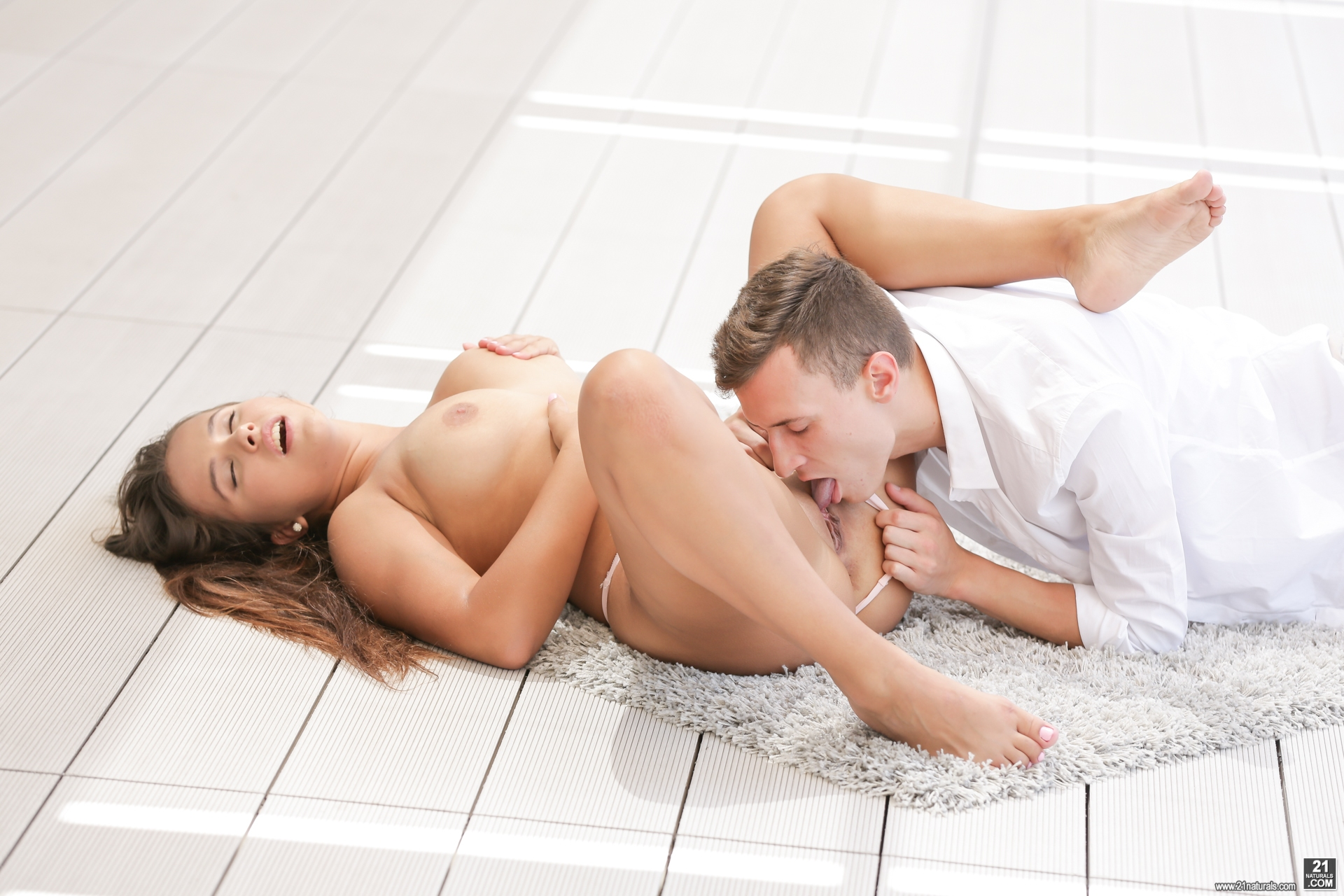 beautiful teen girl with tanlines enjoys her first truly hard sex with a forbidden lover #5
