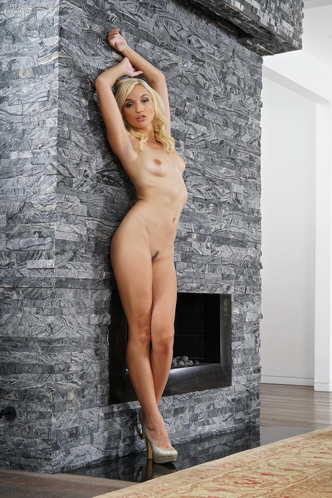 cozy blone eliza a luxury escort opens her sweet pink spot for a review #10