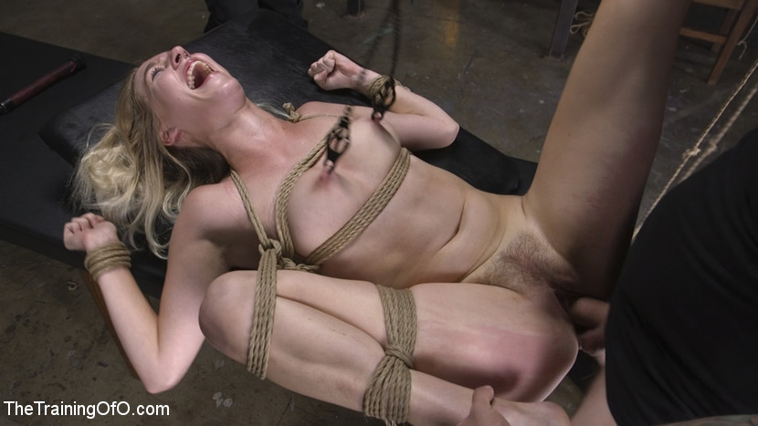 beautiful hairy next door chick gets brutally threaten by a freak #3