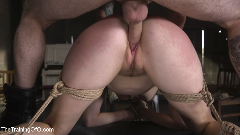 beautiful hairy next door chick gets brutally threaten by a freak #2