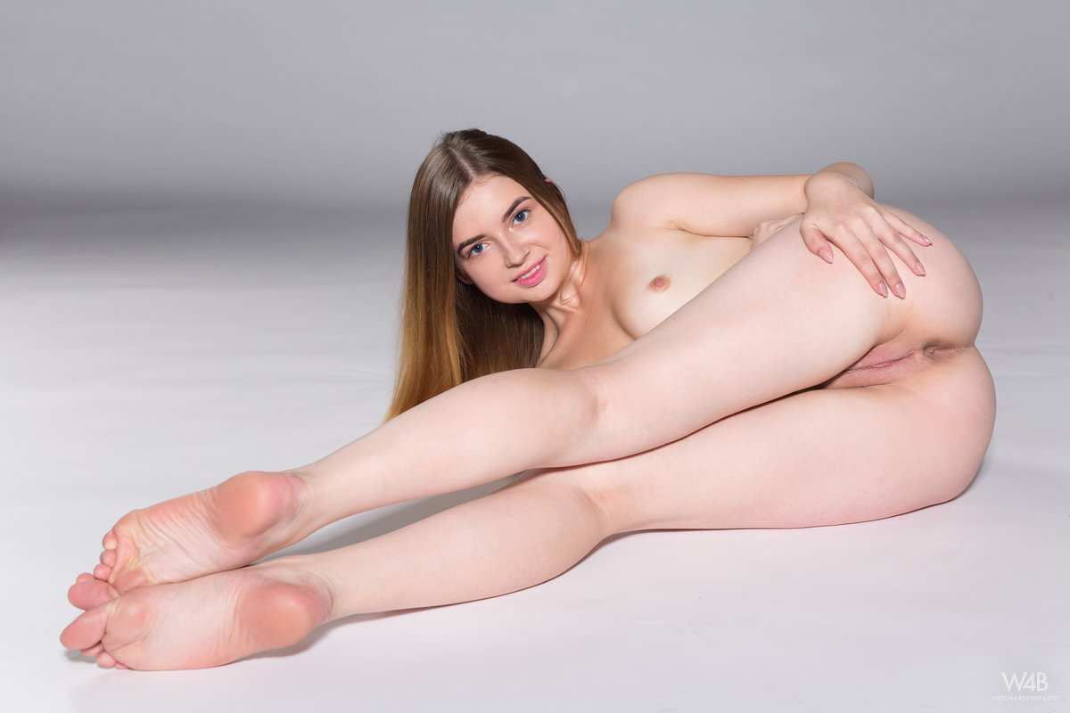 russian girlfriend crystal performs awesome het her first foto casting #2