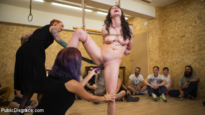 spanish cutie gets public dhumilated and penetrated  #6
