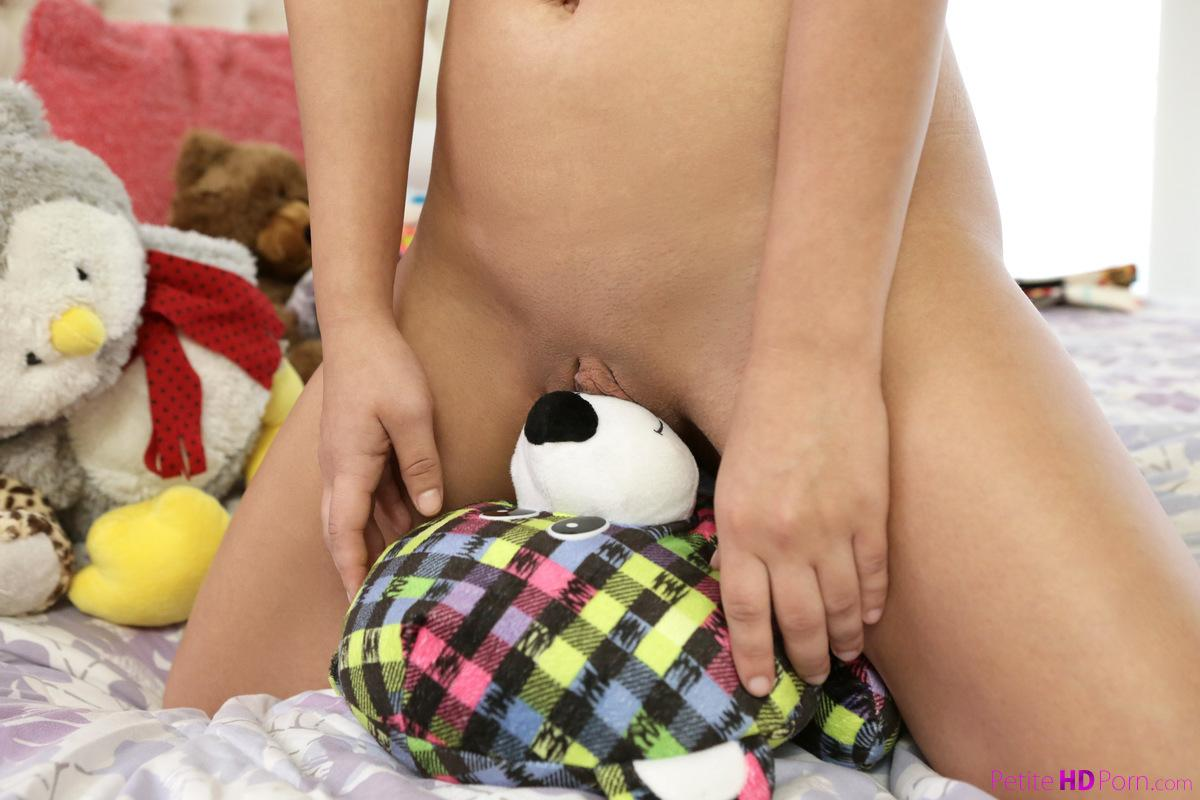 petite teen cutie gets a pyama inspection before going to sleep #6