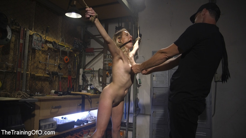 beautiful hairy next door chick gets brutally threaten by a freak #5