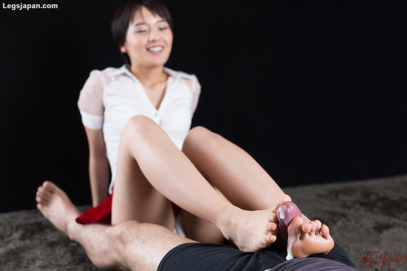 white panties tease and slow toewank with legsjapan model Ai Mukai #7
