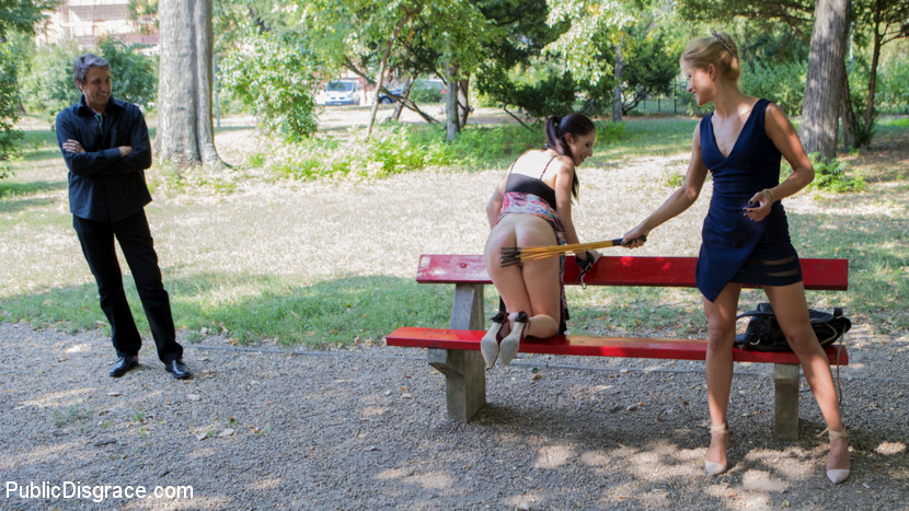 public humilation for 19years old italian cutie rebecca #10