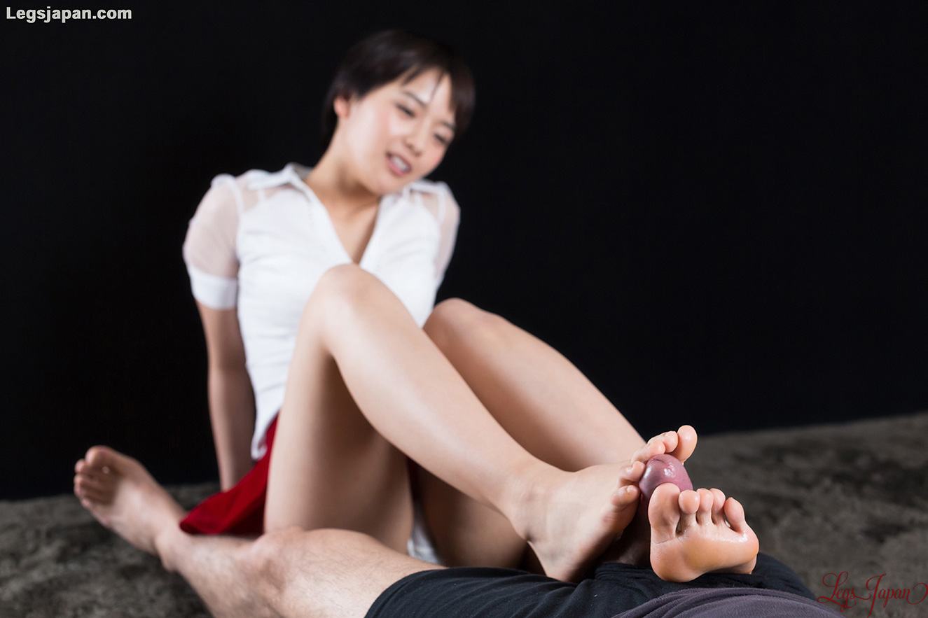white panties tease and slow toewank with legsjapan model Ai Mukai #11