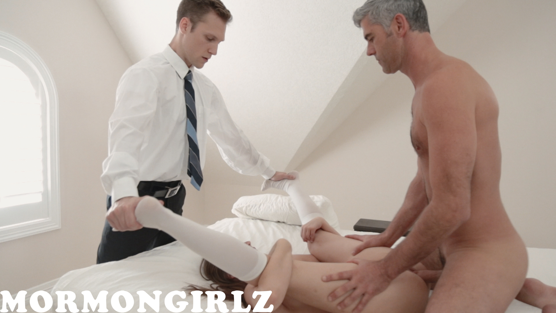mormon girl is really nervous when fucked in front of her new housband #7