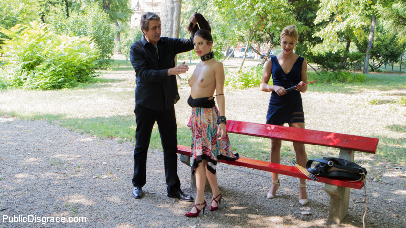 public humilation for 19years old italian cutie rebecca #3