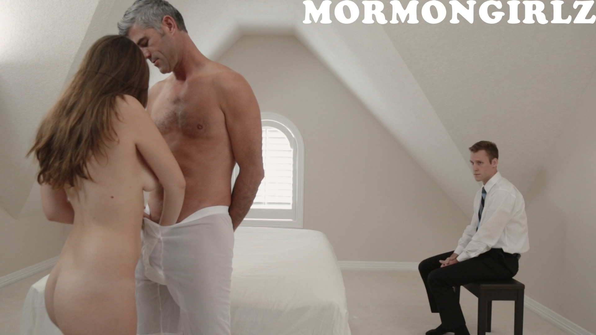 mormon girl is really nervous when fucked in front of her new housband #12