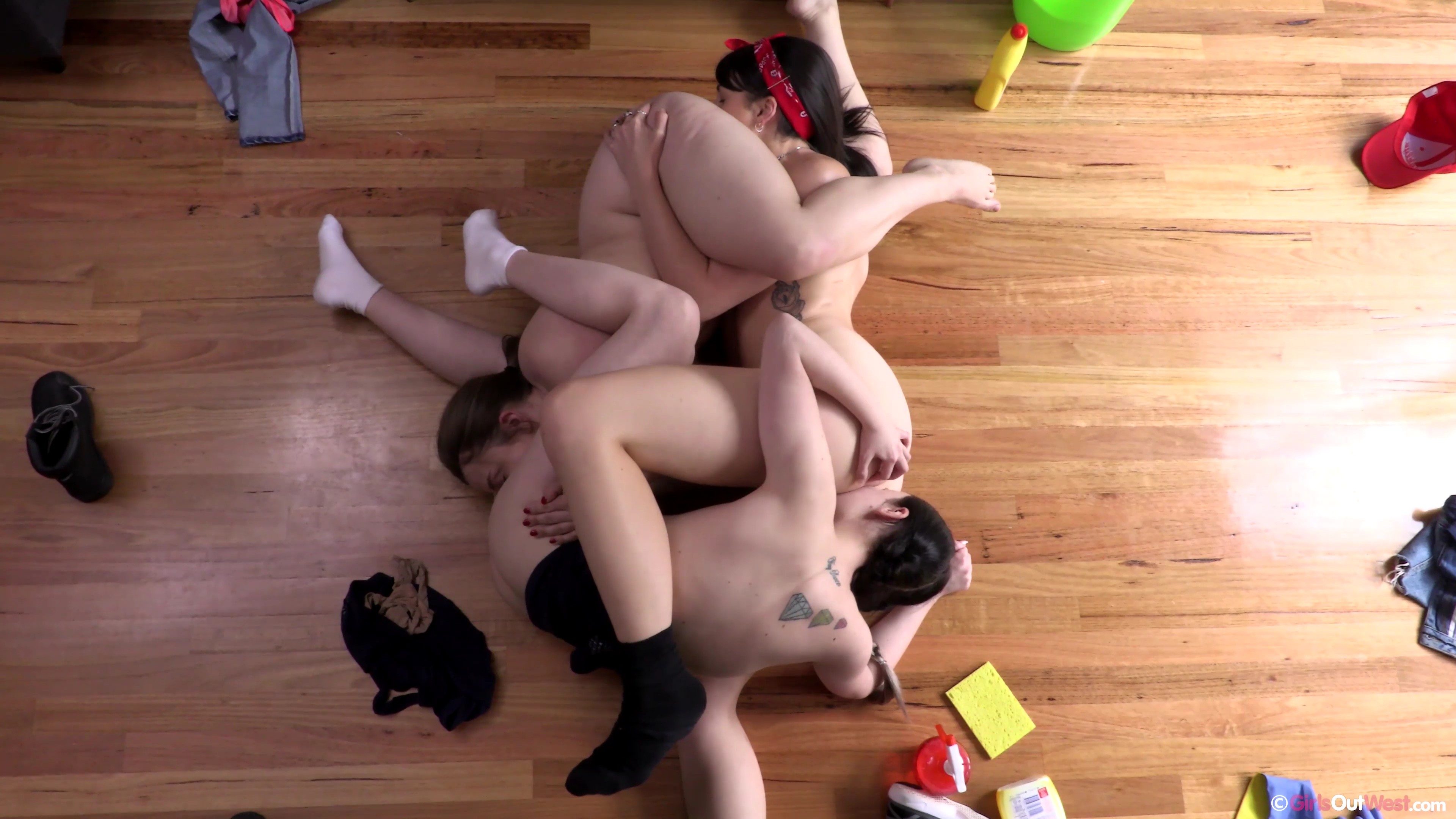 a group of adorable next door girls opening their cunts for common pleasure  #5