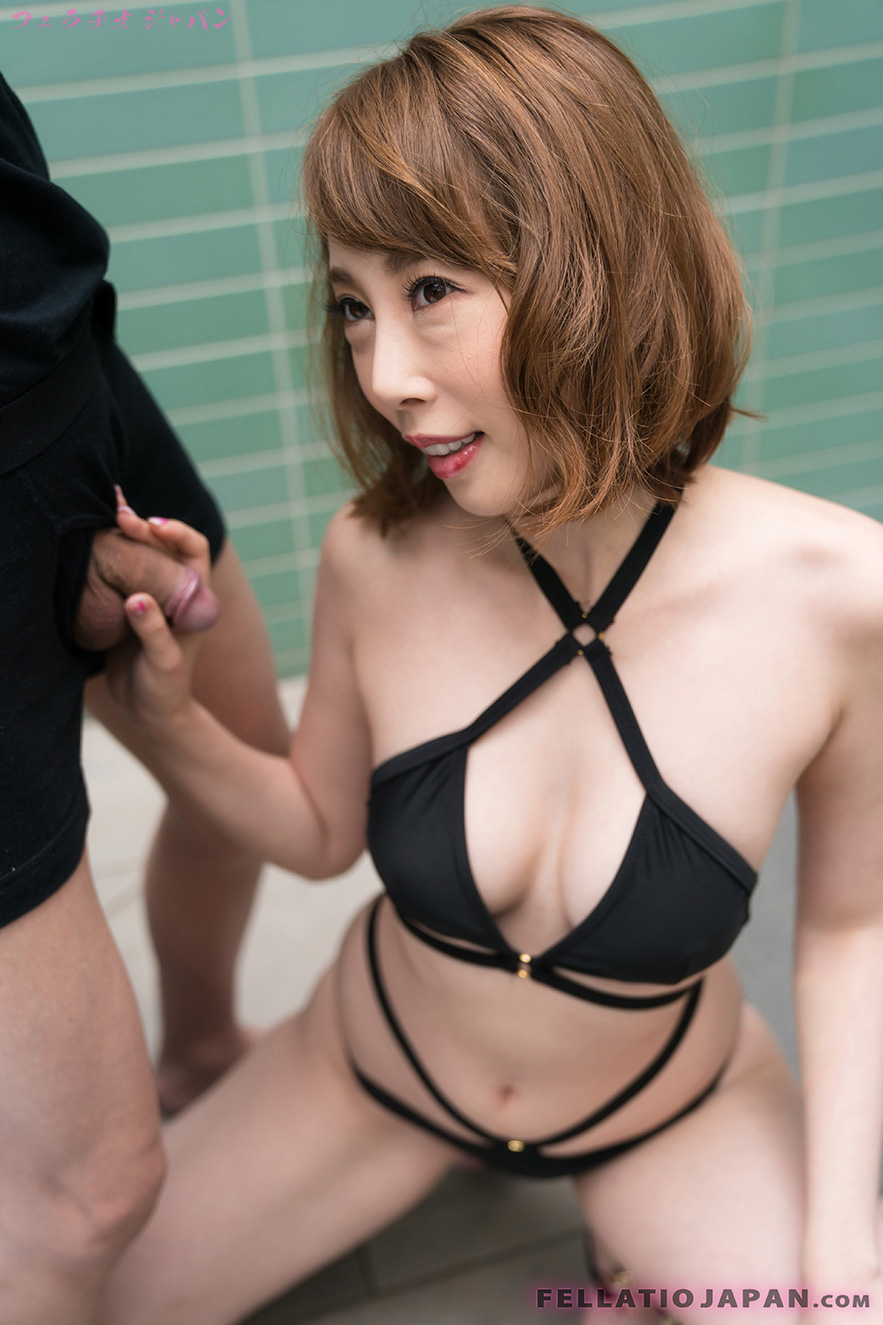 sloppy bikini bj with japanese cutieaya kisaki #10