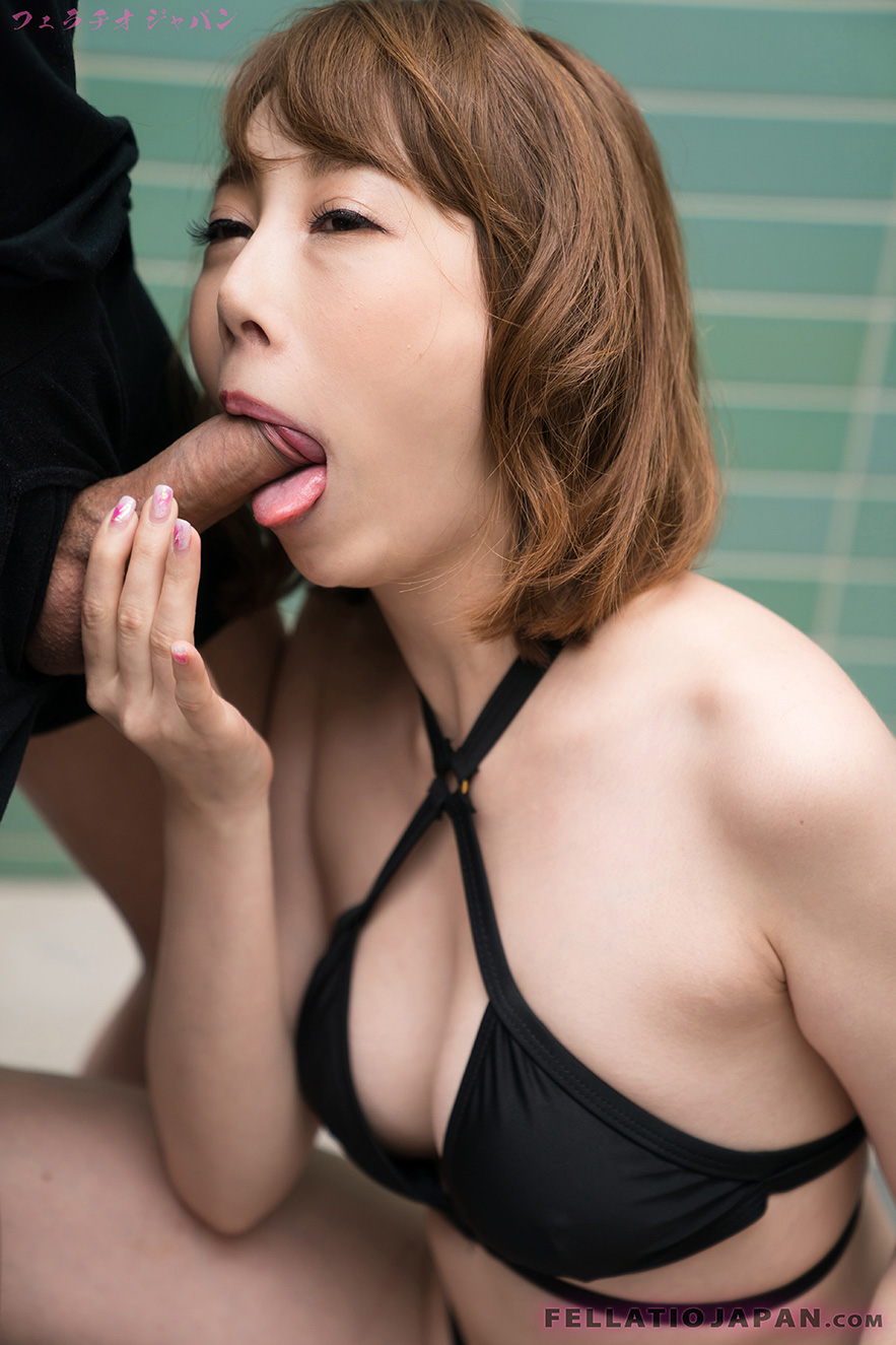 sloppy bikini bj with japanese cutieaya kisaki #6