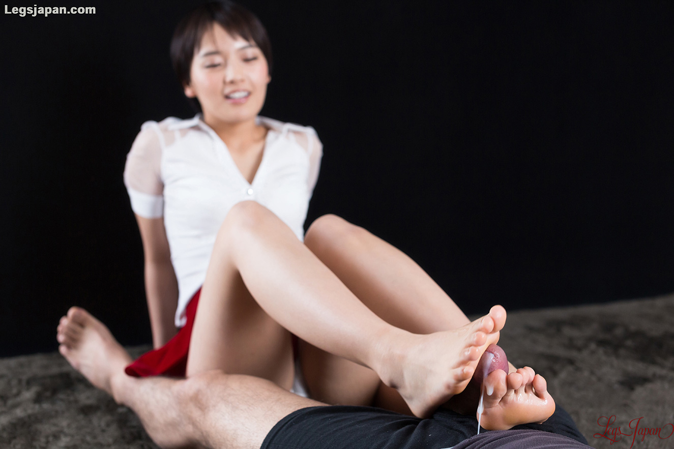 white panties tease and slow toewank with legsjapan model Ai Mukai #3
